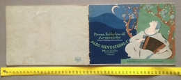 "0149  ""(PESARO) MONDOLFO-ALDO SILVESTRI & C. PREM. FABBRICA DI ARMONICHE-ESPORTAZ. MONDIALE"" CATALOGO ORIGINALE - Publicités"