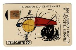 RARE 50 SO2 05/91 Rolland Garros L8 - 1991
