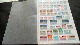 F0978 LOT FEUILLES MONDE NEUFS / OB A TRIER COTE++ DÉPART 10€ - Collections (en Albums)