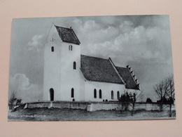 KALVEHAVE KIRKE ( A.S.  Papirlageret, Nykobing F ) Anno 19?? ( Zie Foto ) ! - Danemark