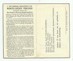 Oorlogsslachtoffer Bredene 1945  * Verlinde Marcel-Lucien (°Oostende 1936 - Zoon Verlinde Kamiel & Jonckheere Nathalie) - Godsdienst & Esoterisme