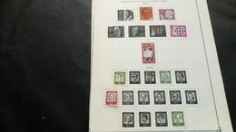 F0979 LOT FEUILLES CANADA FRANCE + DIVERS A TRIER COTE++ DÉPART 10€ - Collections (en Albums)
