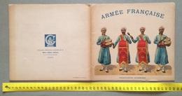 """0150  """"PARIS - ARMEE FRANCAISE - TIRAILLEURS ALGERIENS - LIBRAIRIE THEODORE LEFEVRE ET C."""" CATALOGO ORIGINALE - Uniforms"""