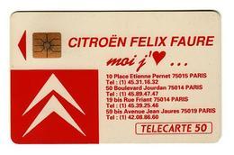 50 SO2 08/91 Citroen Paris L15 - 1991