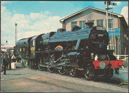 LMS Class 5MT 4-6-0 No 4767 At Shildon, Durham - Postcard - Trains