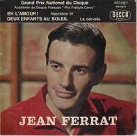 Disque 45 Tours JEAN FERRAT 1961 - Rock
