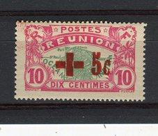 REUNION - Y&T N° 81** - Au Profit De La Croix-Rouge - Réunion (1852-1975)