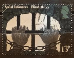 GRAN BRETAÑA 1976 Industrial And Social Reformers Of The 19th Century. USADO - USED. - 1952-.... (Elizabeth II)