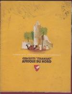 120718A MARINE BATEAU - 1938 LIVRET CROISIERES ET CIRCUITS TRANSAT AFRIQUE DU NORD - Bateaux