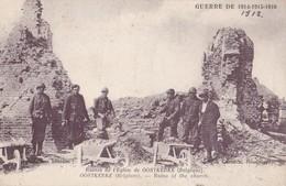 OOSTKERKE - Ruines De L'Eglise - Damme