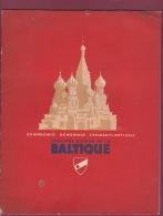 120718A MARINE BATEAU - 1938 LIVRET Cie Gle TRANSATLANTIQUE Croisière En BALTIQUE S/S COLOMBIE LENINGRAD MOSCOU NORVEGE - Bateaux