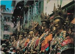 Népal - BUDDHA SAYAMAK - Cpm - écrite - - Nepal