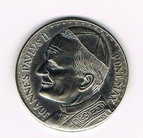 &-  VATICAAN   JOANNES PAULUS II  HERDENKINGSMUNT SINT PIETERSPLEIN - Vatican
