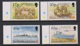 Falkland Islands 1995 End Of World War II 4v  ** Mnh (39494G) - Falklandeilanden