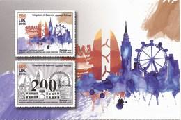 Bahrain 2016 - 200 Years With Britain - Mint Postcard - Bahrain
