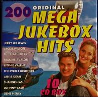 MEGA JUKEBOX HITS' - Coffret De 10 C.D - ( 200 Titres ) . - Rock