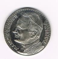 &-  VATICAAN   JOANNES PAULUS II  HERDENKINGSMUNT OLCZESTOCHOWA  ORA PRO NOBIS - Vatican
