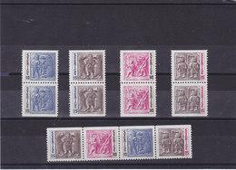 SUEDE 1967 TORSLUNDA Yvert 563-566 + 563a-566a NEUF** MNH - Suède