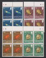 Falkland Islands Dependencies 1984 Crustacea 4v Bl Of 4 ** Mnh (39495A) - Zuid-Georgia