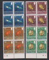 Falkland Islands Dependencies 1984 Crustacea 4v Bl Of 4 ** Mnh (39495B) - Zuid-Georgia