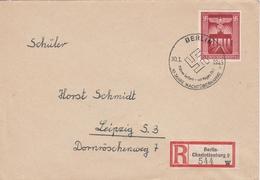 Allemagne Lettre Recommandée Berlin-Charlottenburg 1943 - Allemagne