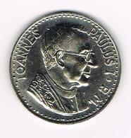 &-  VATICAAN   JOANNES PAULUS I  P.M. HERDENKINGSMUNT - Vatican