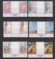 Falkland Islands 2001 Queen Victoria 6v Gutter (+margin) ** Mnh (39496) - Falklandeilanden