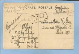 Offemont (90) Belfort Boulevard Carnot 2 SCANS De R. Villardry 171e Régiment D'Infanterie 26e Cie De Recrues Cachet - Offemont