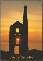 Carn Galver Tin Mine, Near Zennor, Cornwall, C.1990s - John Hinde Postcard - England