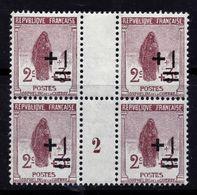N° 162 AU PROFIT DES ORPHELINS DE LA GUERRE MILLESIME 1922 NEUFS** - Unused Stamps