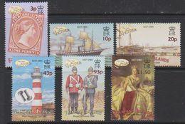 Falkland Islands 2001 Queen Victoria 6v  ** Mnh (33496B) - Falklandeilanden