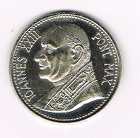 &-  VATICAAN   JOANNES XXIII PONT MAX MICHELANGELO * LA PIETA HERDENKINGSMUNT - Vatican