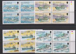South Georgia 2001 Auxiliary Fleet 4v Bl Of 4 (39497C) - Zuid-Georgia