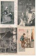 Lot De 100 Cartes Postales Anciennes Diverses Variées - Très Très Bon Pour Un Revendeur Réf, 233 - Postcards