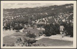 An Unidentified Californian Hillside, C.1940 - Agfa Ansco RPPC - To Identify