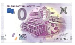 BELGIQUE   BELGIAN FOOTBALL CENTER   ( Billet 0 Euro ) - EURO