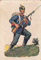 Uniformes Armée Allemande  - 1932 - N°98 LIEGNITZ -  WALDORF ASTORIA Cigarettes Allemandes - Cigarette Cards