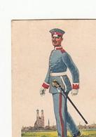 Uniformes Armée Allemande  - 1932 - N°281 MUNCHEN  -  WALDORF ASTORIA Cigarettes Allemandes - Cigarette Cards