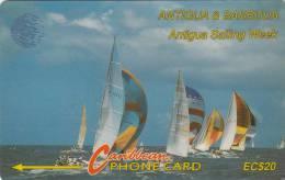 ANTIGUA & BARBUDA(GPT) - Sailing Week 1/2, CN : 7CATB, Used - Antigua And Barbuda