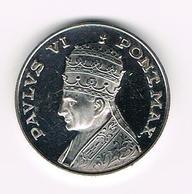 &-  VATICAAN   PAULUS VI  PONT MAX MICHELANGELO * LA PIETA HERDENKINGSMUNT - Vatican
