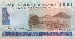 Rwanda 1.00 Francs, P-27a (1.12.1998) UNC - Rwanda