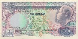 St. Thomas 1.000 Dobras, P-62 (4.1.1989) UNC - São Tomé U. Príncipe