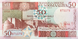 Somalia 50 Shillings, P-34d (1989) UNC - Somalie