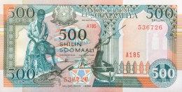 Somalia 500 Shillings, P-36c (1996) UNC - Somalia