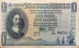 South Africa 1 Pound, P-93e (26.3.1955) VF - Südafrika