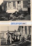 2 Photos  Authentiques -    Automobile -  ISETTA  -  VELAM - Automobile