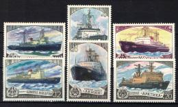 URSS - 1978 - Icebreakers: - MNH - Neufs