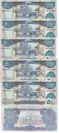 Somaliland - 5 Pcs X 500 Shillings 2011 UNC Lemberg-Zp - Somalië
