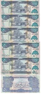 Somaliland - 5 Pcs X 500 Shillings 2011 UNC Lemberg-Zp - Somalie