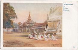 Worshippers At Pagan, Burma - Myanmar (Burma)